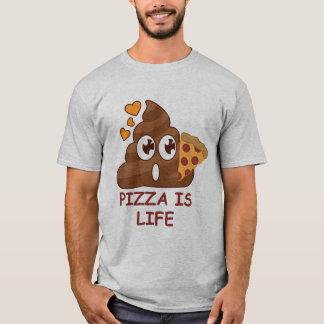 Impulso Emoji de la pizza Camiseta