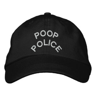 """""""IMPULSO P0LICE"""" bordado en el casquillo Gorras De Béisbol Bordadas"""