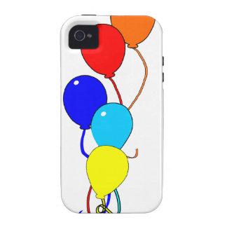 Impulsos del cumpleaños Case-Mate iPhone 4 carcasa