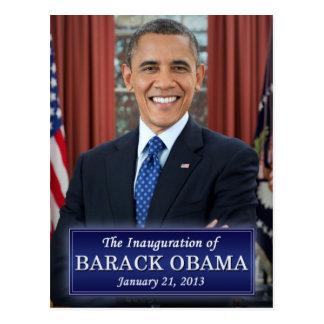 Inauguración 2013 de Barack Obama Postal