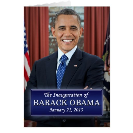 Inauguración 2013 de Barack Obama Tarjetas