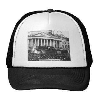 Inauguración Abraham Lincoln del 4 de marzo de 186 Gorras