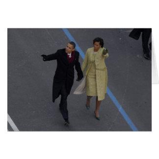 Inauguración de Obama Tarjetón