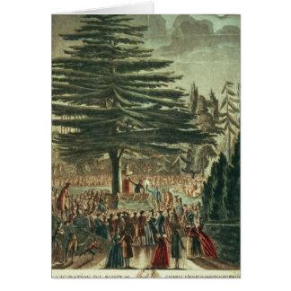 Inauguración del busto de Carl Linnaeus Felicitaciones
