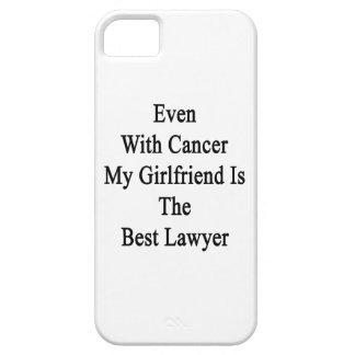 Incluso con el cáncer mi novia es el mejor abogado iPhone 5 carcasas