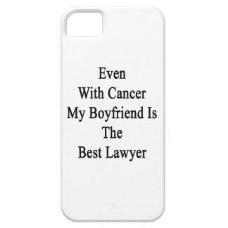 Incluso con el cáncer mi novio es el mejor abogado iPhone 5 Case-Mate funda