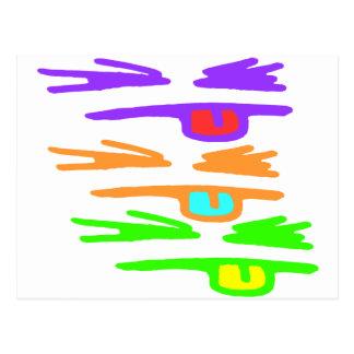 Incompleto, RGB y grosero Postal