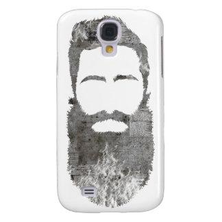 inconformista concreto con la barba funda samsung s4