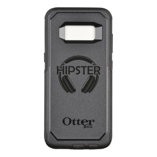 Inconformista de los auriculares de la música funda commuter de OtterBox para samsung galaxy s8