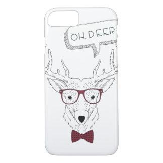 Inconformista oh, caso de Iphone de los ciervos Funda iPhone 7