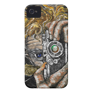 Inconformista retro Selfie Funda Para iPhone 4 De Case-Mate