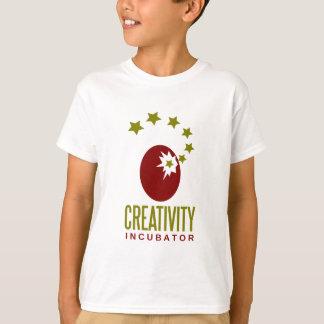 incubadora de la creatividad camiseta