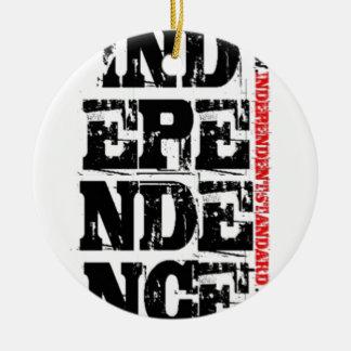 Independencia Ornamentos De Navidad