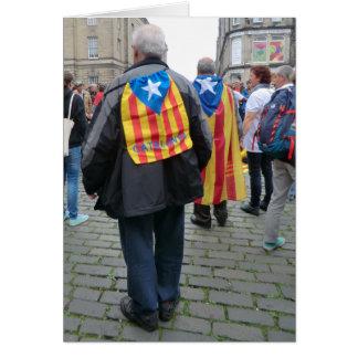 Independencia para los paladines de Cataluña en Tarjeta De Felicitación