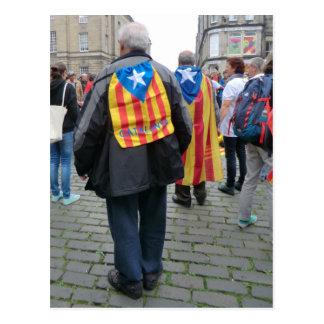 Independencia para los paladines de Cataluña en Postal