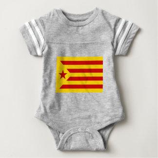 Independentista Catalana de Estelada Roja - de Body Para Bebé