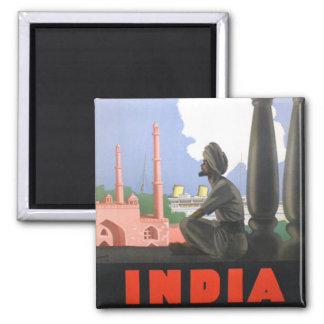 India-1927 Imán Cuadrado