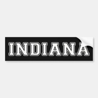 Indiana Pegatina Para Coche