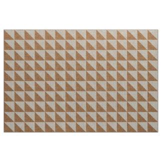 Indie geométrico de los triángulos de la arpillera telas