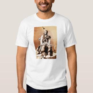Indio 1880 del cuervo camisetas