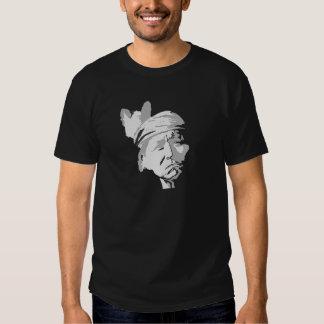Indio del nativo americano camiseta