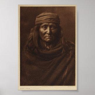 Indio del nativo americano impresiones