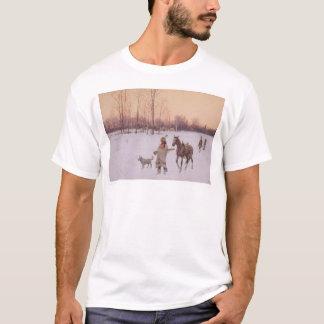 Indios en la nieve (0565A) Camiseta
