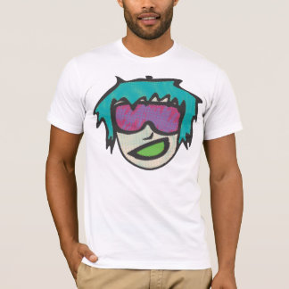 Individuo de los vidrios del estallido camiseta