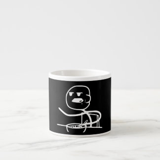 Individuo de Meme del cereal Taza Espresso