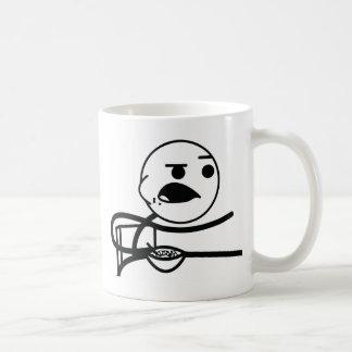 individuo del cereal taza de café