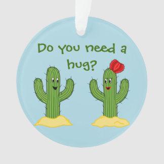 Individuo espinoso del cactus del dibujo animado