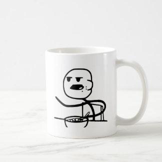 Individuo Meme del cereal Taza De Café