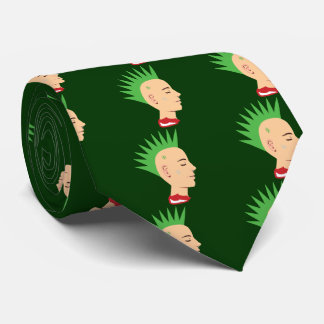 Individuo punky corbata personalizada