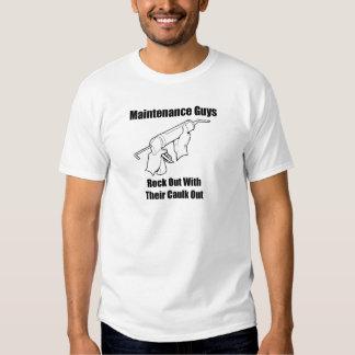 Individuos del mantenimiento camisetas