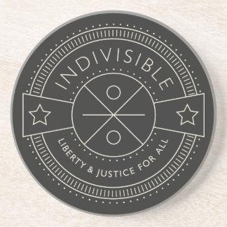 Indivisible, con libertad y justicia para todos posavasos