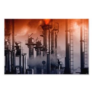industria de poder, petróleo y gas foto