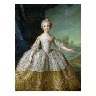 Infanta Isabel de Borbón-Parme 1749 Postal