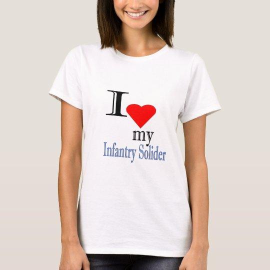 Infantería Solider Camiseta