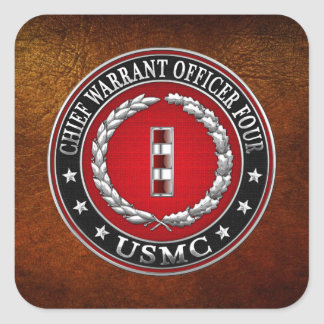 Infantes de marina de los E.E.U.U.: Principal Calcomanía Cuadradas