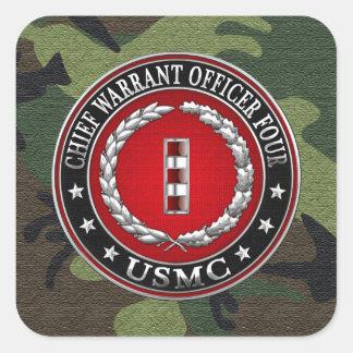 Infantes de marina de los E.E.U.U.: Principal Colcomanias Cuadradass