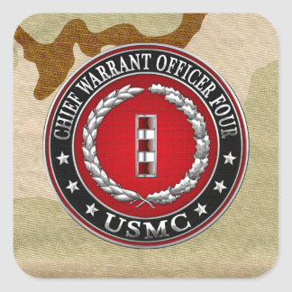 Infantes de marina de los E.E.U.U.: Principal Calcomania Cuadradas