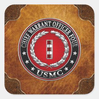 Infantes de marina de los E.E.U.U.: Principal Pegatina Cuadrada