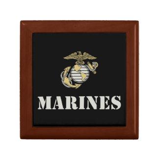 Infantes de marina [plantilla] joyero cuadrado pequeño