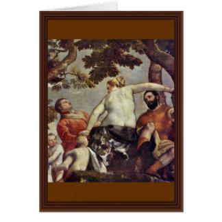 Infidelidad de Veronese Pablo (la mejor calidad) Tarjeta De Felicitación