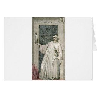 Infidelidad por Giotto Tarjeta De Felicitación