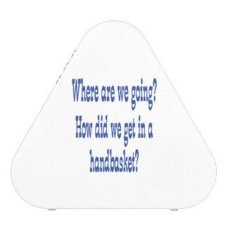 Infierno en un Handbasket - personalizado Altavoz
