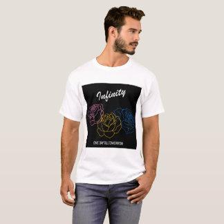 Infinito - camiseta blanca de los muchachos de la