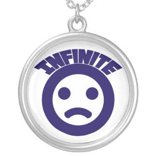 Infinito = (collar colgante redondo