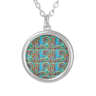 Infinito del MANTRA de OM - la exhibición Meditate Collares