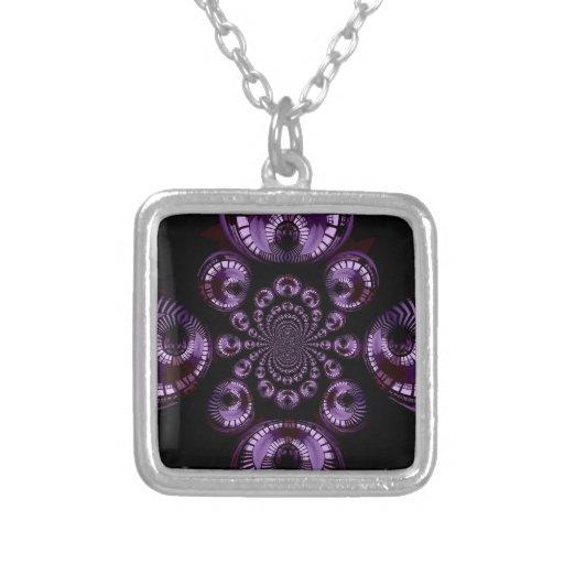 Infinito púrpura joyería